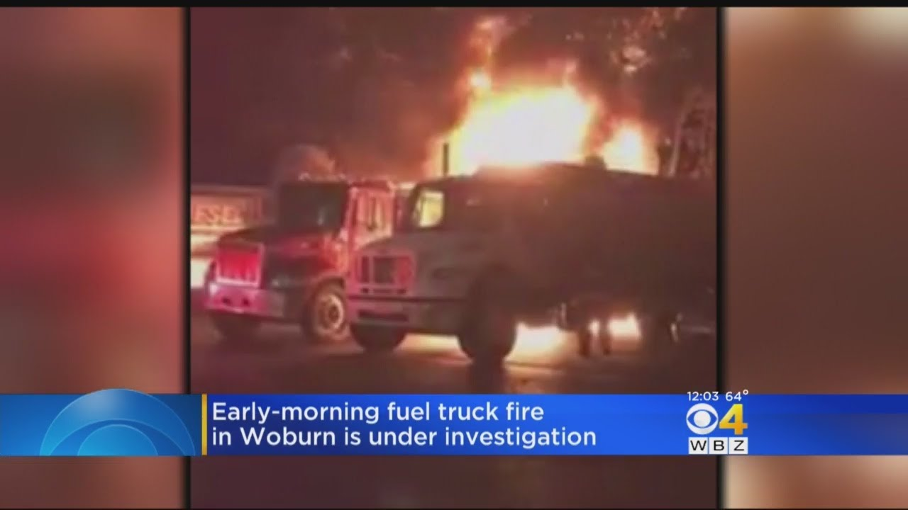 Fuel Truck Fire In Woburn Under Investigation