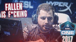 FALLEN IS F*CKING INSANE & SK GAMING CAMPEÃ!! ESL COLOGNE 2017