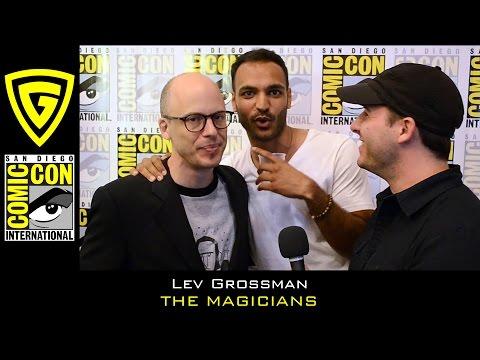 Lev Grossman interview - The Magicians - SDCC 2016