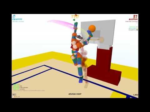 Toribash-Les Play Basketball-Yaaaay!