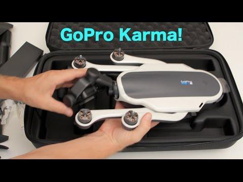 GoPro Karma with Hero5 Black Unboxing - GoPro Tip #564