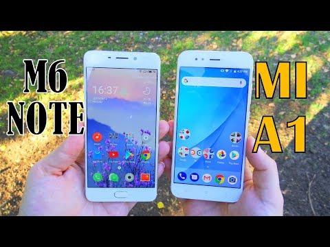 Meizu M6 Note vs  Xiaomi Mi A1: Best Budget Android Phones in 2017
