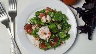 Салат из рукколы с креветками То что нужно для легкого ужина