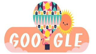 Google Doodle Celebrates The Beginning Of Summer In The Northern Hemisphere