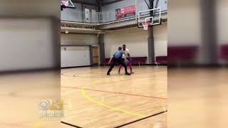 Md. Cop's Basketball Moves In One-On-One Game Goes Viral