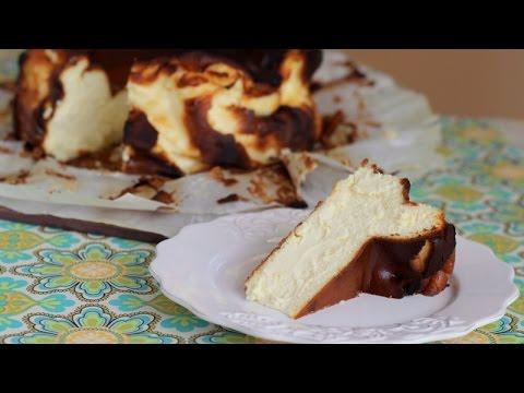 Burnt Cheesecake from La Viña Bar in San Sebastian