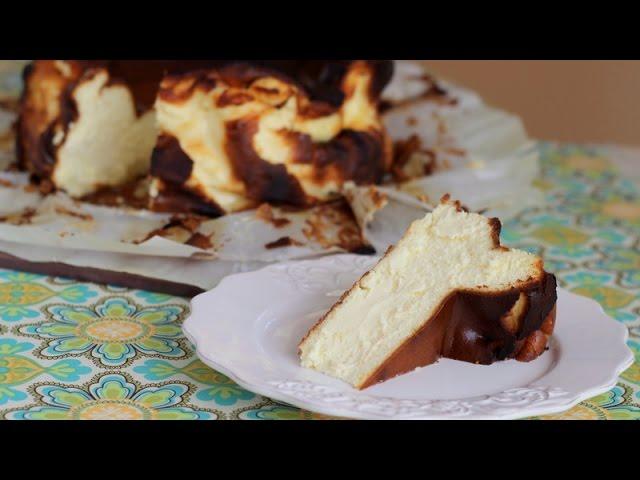 Burnt Cheesecake From La Vina Bar In San Sebastian Youtube