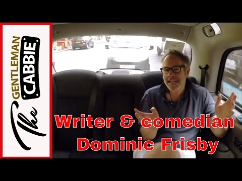 Comedian & writer Dominic Frisby discusses tax & comedy with taxi drver The Gentleman Cabbie
