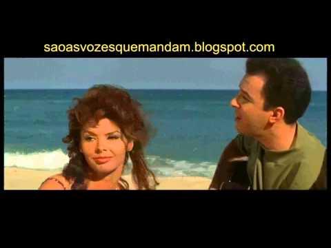 Filme Copacabana Palace : Tom Jobim, Joao Gilberto e Luiz Bonfa cantam na beira da praia