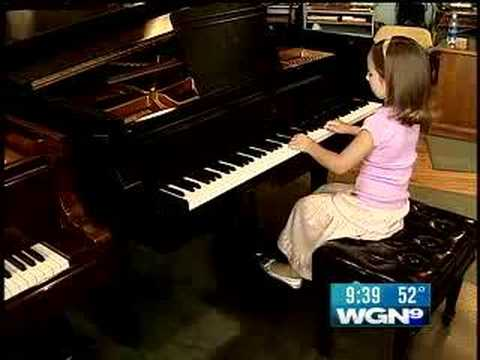 The Next Mozart?6-Year Old Piano Prodigy Wows All