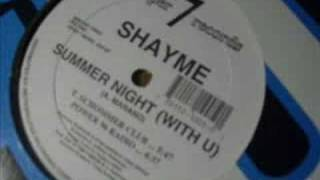 Shayme - Summer Night [FREESTYLE MUSIC]