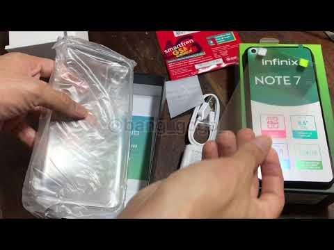 Unboxing Infinix Note 7 Lite