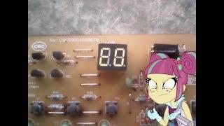 problema de error E0 en  tarjeta de aire acondicionado marca haier  de 18.000 BTU 220 voltio