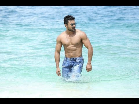 Ram charan Latest six pack Photos in...
