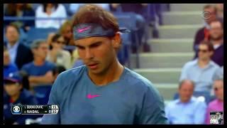 U.S. Open 2013 Final ( INSANE 4K ) - Novak Djokovic vs Rafael Nadal