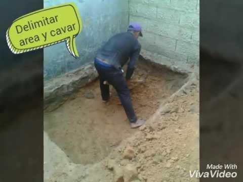 Fabricar jacuzzi de concreto paso a paso youtube for Hacer piscina de obra paso a paso