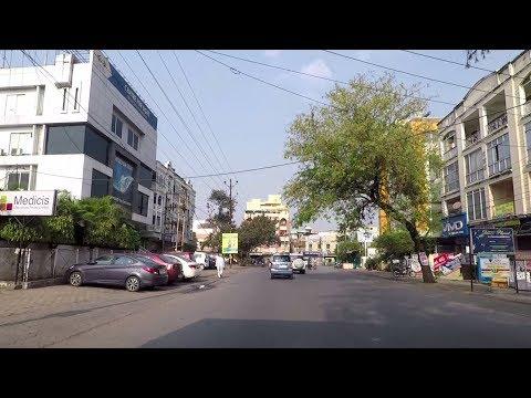 Driving in Indore - Madhya Pradesh, India