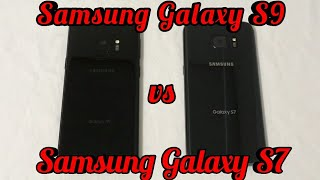Samsung Galaxy S9 vs Samsung Galaxy S7 Speed Test Comparison