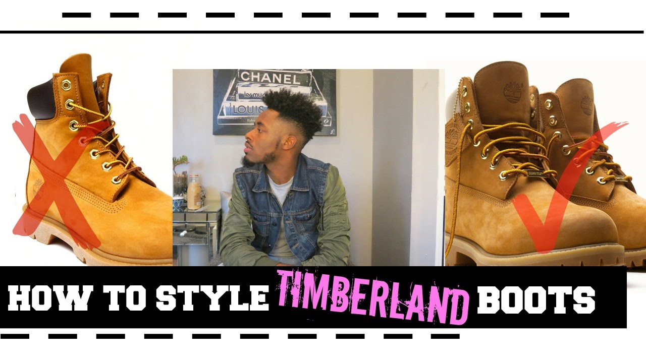 how to style timberland boots on foot review youtube