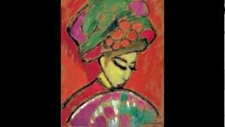 Alexej von Jawlensky, Young Girl in a Flowered Hat, 1910