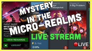 Mystery in The Micro-Realms VARIANT Live Stream! Marvel Contest of Champions/ Arena/Questing & More!