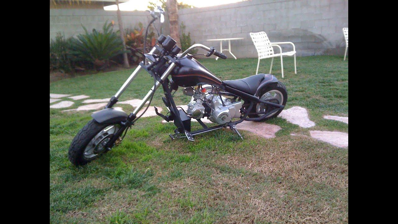 custom mini chopper 110cc it at on the