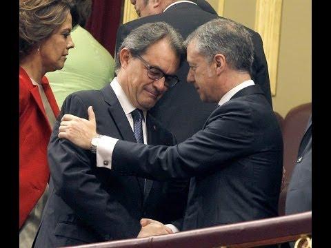 Artur Mas, Urkullu y los diputados de CiU y PNV no aplauden a Felipe VI