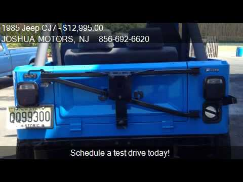 1985 jeep cj7 renegade for sale in vineland nj 08360 for Joshua motors vineland nj