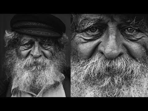 """DODGE AND BURN : Comment sublimer vos portraits noir et blanc avec l'outil """"courbes"""" de Photoshop ?"""
