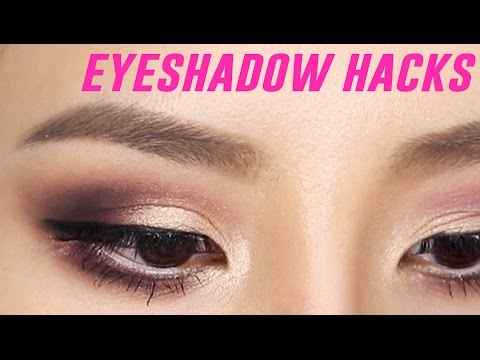 Eyeshadow Hacks For Beginners | Tina Yong