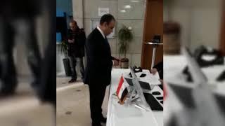 أخبار اليوم | السفير المصري بألمانيا يدلي بصوته في الانتخابات