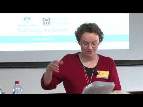 Bean and the making of the National Archives of Australia by Ms Anne Marie Condé