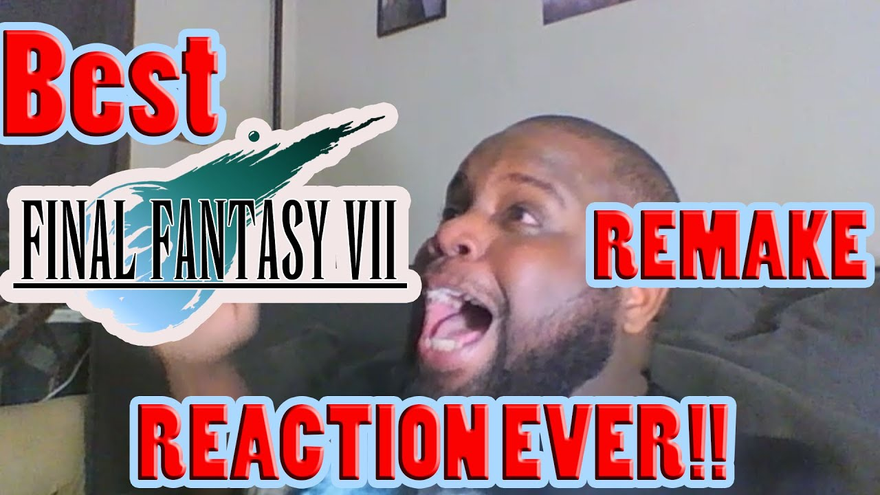 BEST FINAL FANTASY VII REMAKE REACTION EVER| E3 2015 SONY