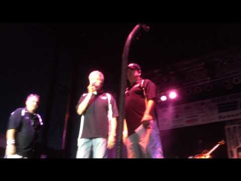 Rockford's Country Q98.5 on Stage at OSD before Montgomery Gentry