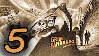 Прохождение Grim Fandango Remastered — Часть 5: Рубакава