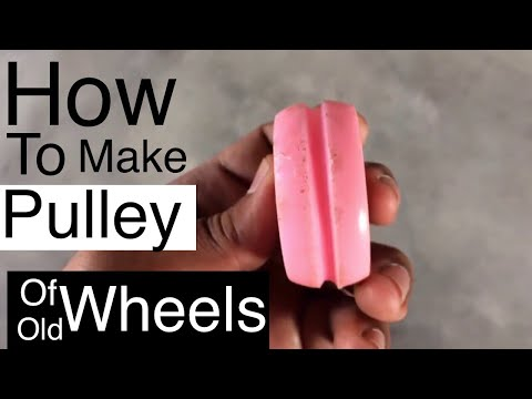 how to make a pulley at home