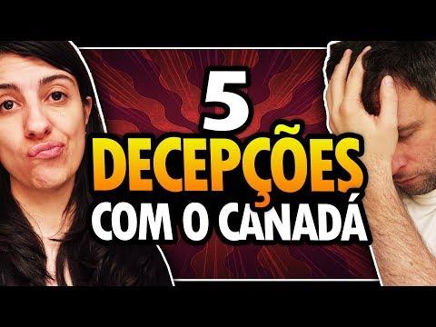 5 COISAS QUE NOS DECEPCIONAMOS NO CANADÁ