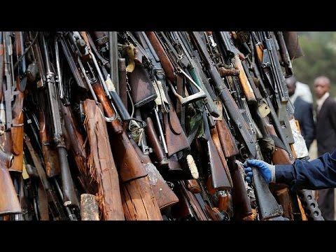Côte d'Ivoire : des armes saisies à Bouaké