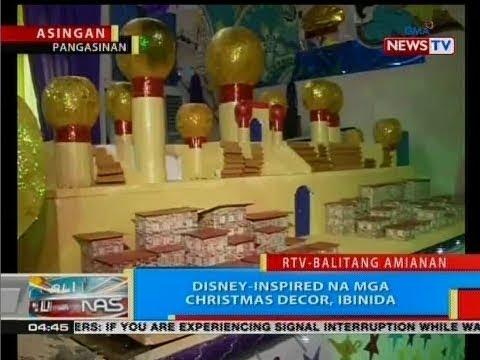BP: Disney-inspired na mga Christmas decor, ibinida