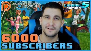 6000 Subscribers! Patreon! Become a Patron & Join the Community! #PlanetCoaster
