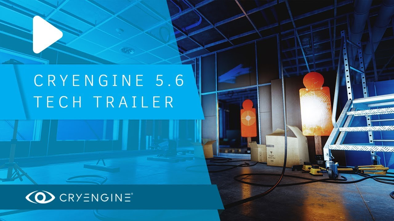 CryEngine 5 6 looks like the future in this new tech trailer