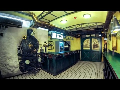"Стимпанк кафе Арт Вокзал. Steam Punk cafe  ""ART Station"""