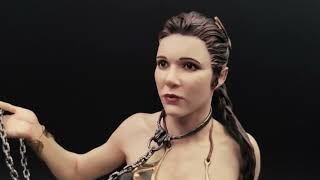 Slave Leia V2 Custom Statue