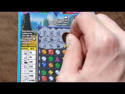*WINNING* NEW SCRATCH OFF! March 2013 BEJEWELED!!