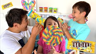 Drama Penjual Es Krim Mini dan Permen Lollipop Lucu - Pembel...