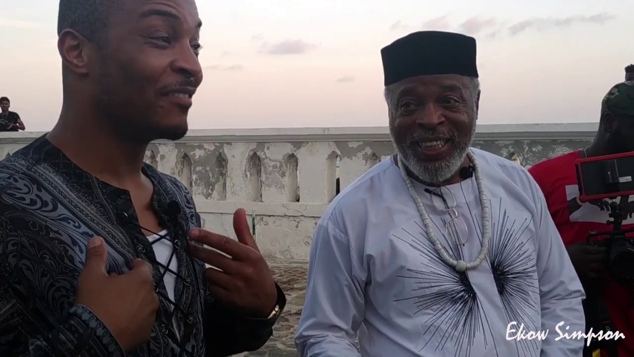 Rapper T.I And Wife Tour Cape Coast Castle Dungeon, Ghana | Connecting With  Ancestors