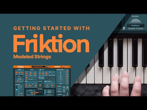 Friktion Modeled Strings: Getting Started in the Reason Rack