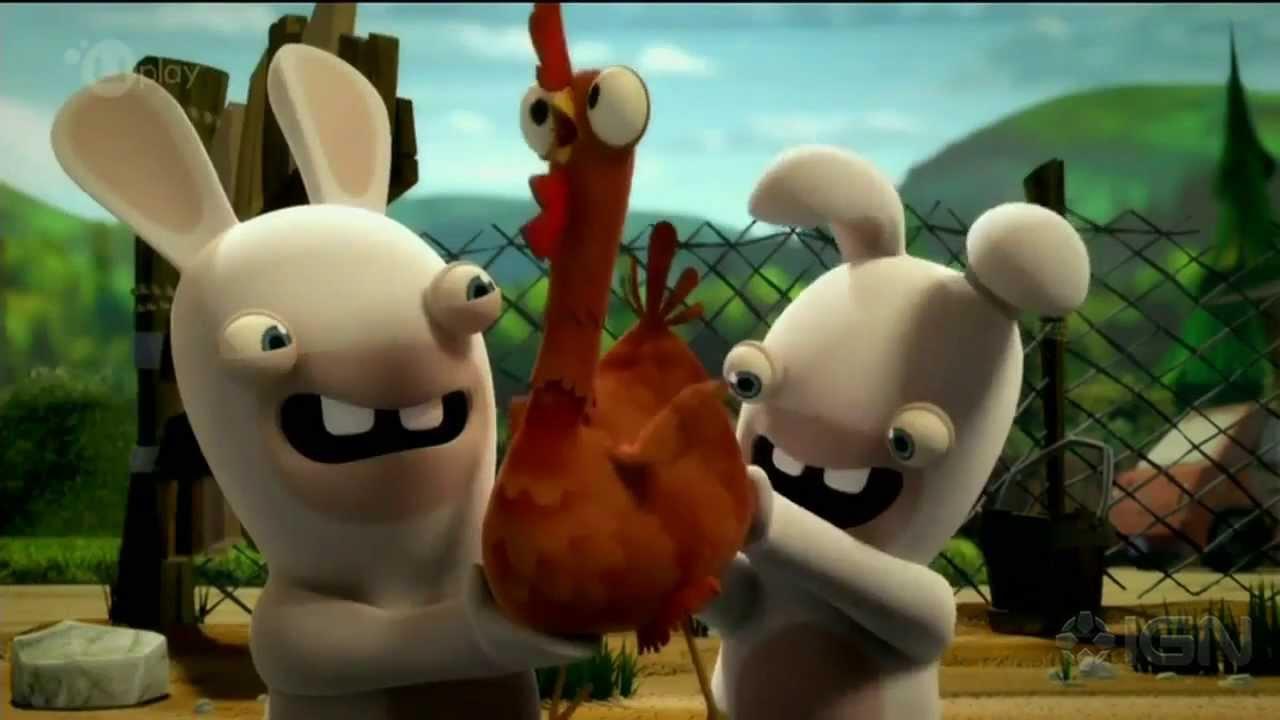 Rabbids Invasion Debut Trailer E3 2013 Ubisoft