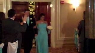 Erin and Matt's Wedding - Bridal Party Entrance