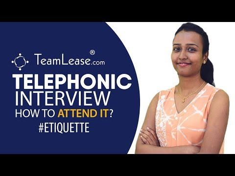 Tips To Nail A Telephonic Interview - Do's And Don'ts Of A Phone Interview, Teamlease